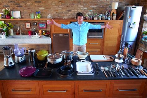 jamie at home kitchen design what do tv chefs kitchens tell us about them little