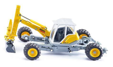 Siku Mounty menzi muck walking excavator building site crane