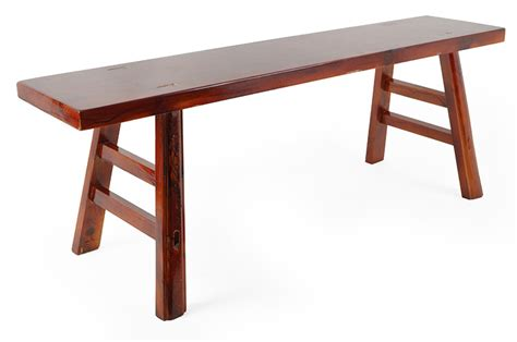 kung fu bench wooden kung fu bench