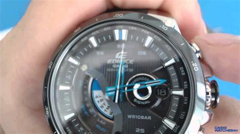 casio edifice wave ceptor solar eqw ab aer youtube