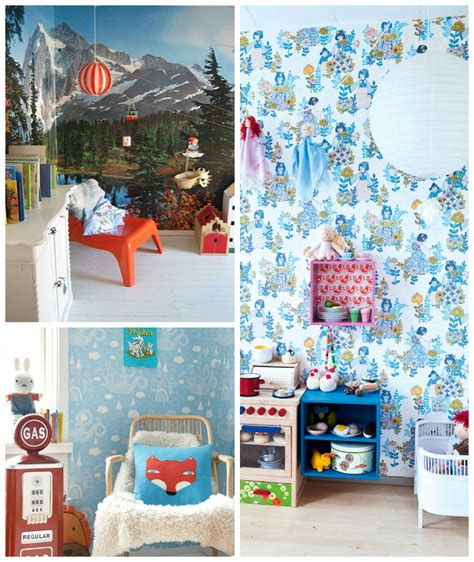 kids room wallpapers wee birdy the insider s guide to shopping design