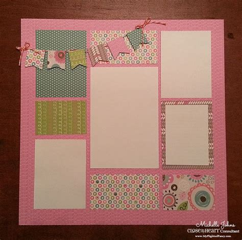 scrapbooking template 69 best images about baby on