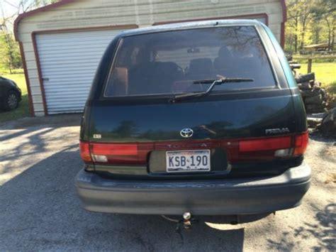 auto body repair training 1997 toyota previa user handbook sell used 1997 toyota previa le mini passenger van 3 door 2 4l in flint texas united states