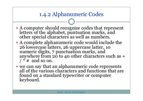 javascript pattern matching alphanumeric ee 202 chapter 1 number and code system