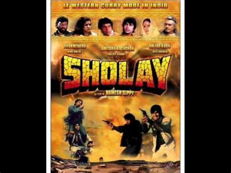 theme music sholay sholay title theme by rd burman youtube