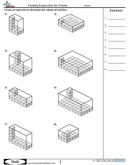 printable math worksheets volume of triangular prism volume of prism worksheet worksheets releaseboard free