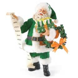irish santa claus possible dreams figurine 4026991