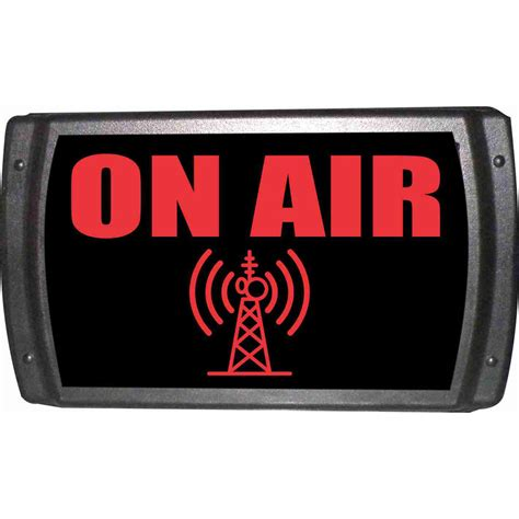 On Air In american recorder oas 2001 rd on air sign with leds oas