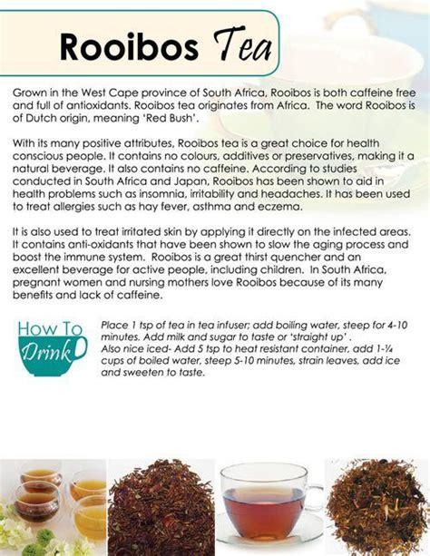 Rooibos Tea Detox Symptoms by Rooibos Tea Http Www Mysteepedteaparty Teaprincess