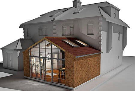 roof types single and double pitched roofs ekobustas types of house extensions proficiency