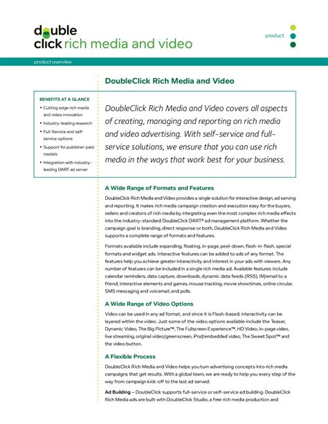 doubleclick rich media overview by bill shaw issuu