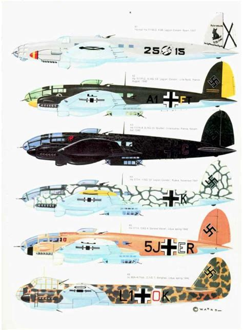 luftwaffe in colour volume 9 best he 111 images on airplanes aircraft and airplane