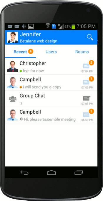 messenger for android android srimax