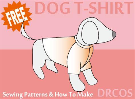 pattern dog t shirt dogtshirt sewing patterns drcos patterns how to make