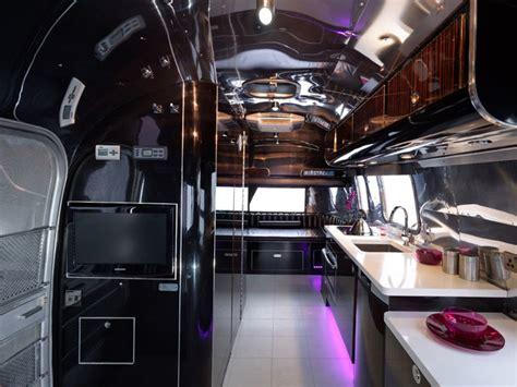 Rv With Modern Interior by Modern Airstream Restoration Modern Kitchen Other Metro