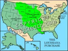 louisiana purchase interactive map clip united states history louisiana purchase color