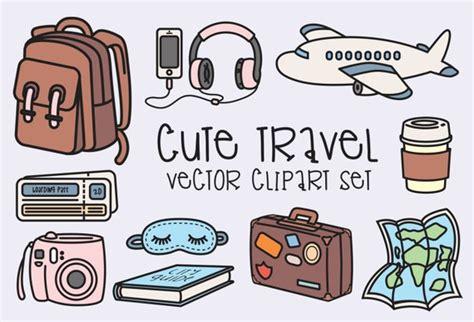 clipart viaggi premium vector clipart kawaii travel clipart kawaii clip