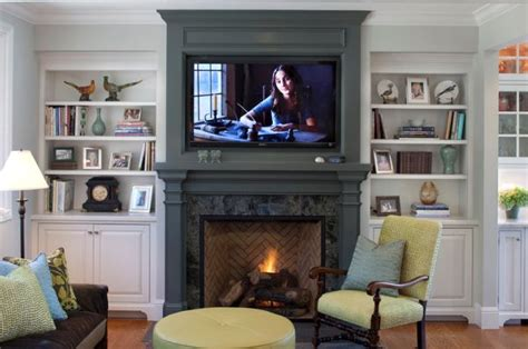 Tv On Wall Fireplace by Fireplace And Woodstove Designs That Really Heat Things Up