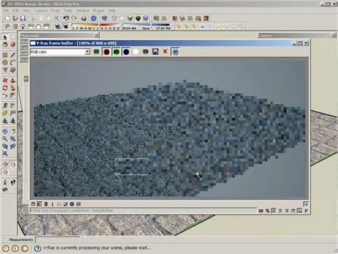 tutorial bump vray sketchup v ray for sketchup materials bump displacement youtube