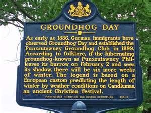 Origin Of Groundhog Day Groundhog Day