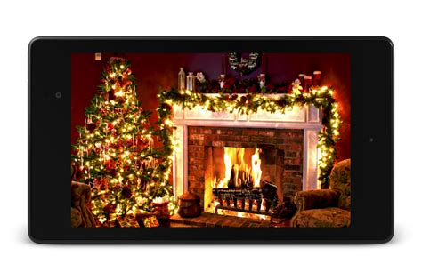 yule log fire live wallpaper android apps on google play christmas fireplace lwp android apps on google play
