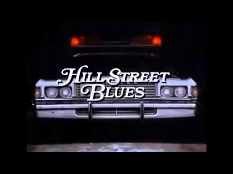 theme song hill street blues mike post the theme from hill street blues youtube