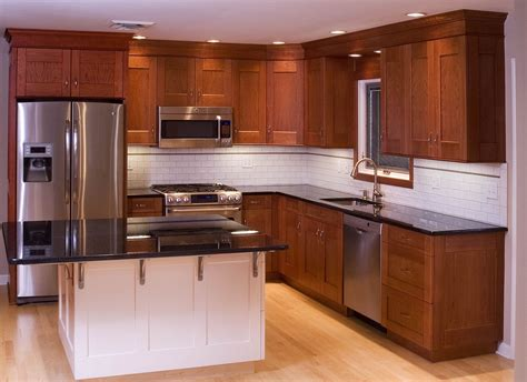 kitchen in a cabinet hand made cherry kitchen cabinets by neal barrett