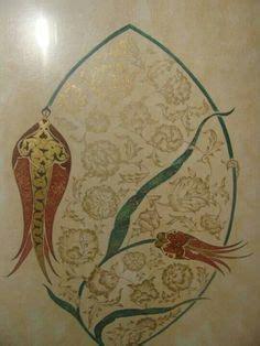 Produk Ukm Bumn Kaligrafi Arab tulip with root by esraart tezhip in 2018