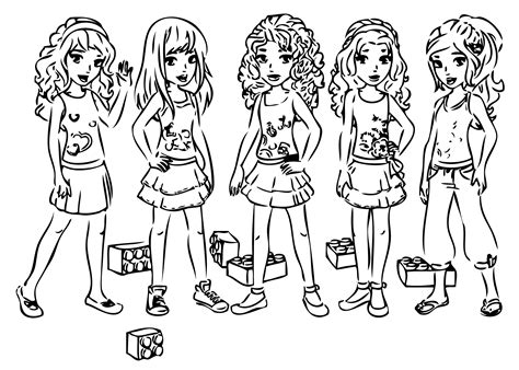 lego friends horse coloring pages free printable coloring pages lego friends free coloring