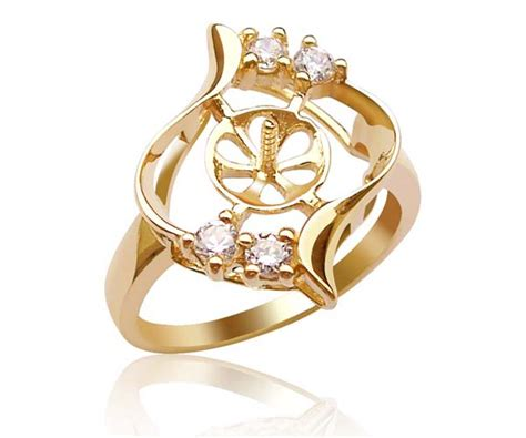 Caring Colours Illuminate Timeless Dac 02 Sea Gold 10gr 14k solid gold ring setting in curve design