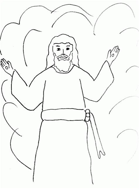 apostle paul coloring pages coloring home