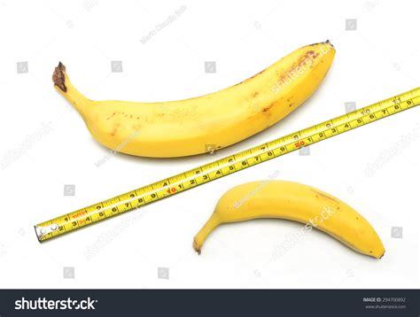 Big Size Banana by Big Small Banana Measuring On Stock Photo 294700892