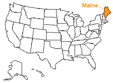 usa map states maine the us50 a guide to the state of maine geography