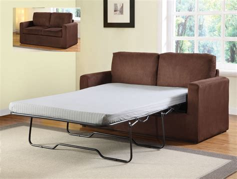 Microfiber Sleeper Sofa Craigg Chocolate Microfiber Sofa Sleeper