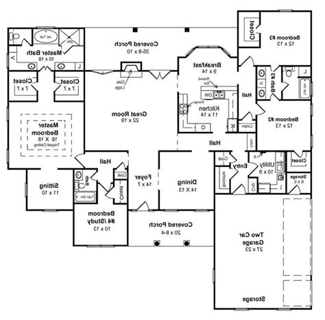 basement home floor plans walkout basement house plans direct from the nations top home simple house floor plans 3 bedroom