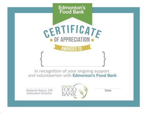 web design certificate edmonton mc design edmonton food bank certificate designs