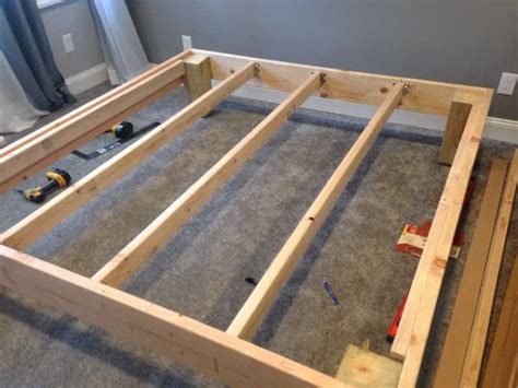 king sized deck diy bed frame with foundation for 100 the mattress underground