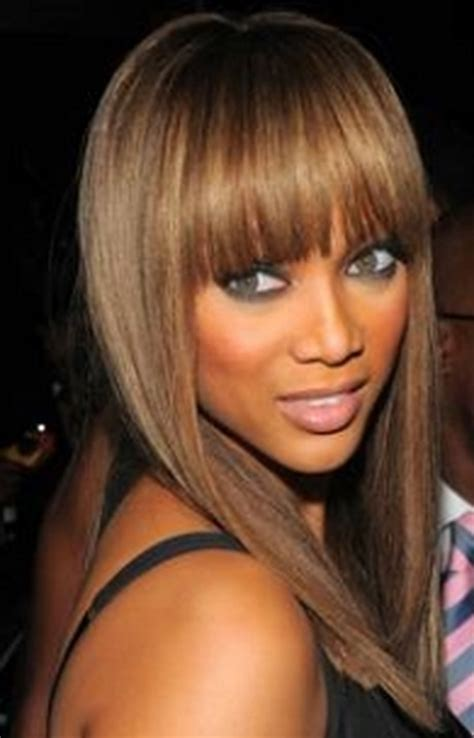 hairstyles for long hair and fringe fringe hairstyles for long hair