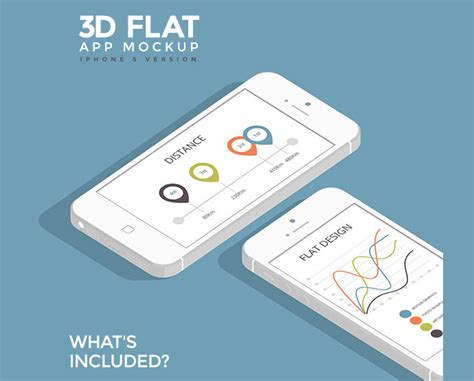 flat design app mockup 15 high quality flat psd mockup templates for mobile