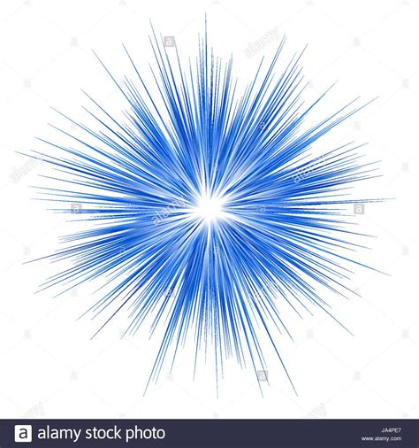 Blue explosion graphic design on white background Stock ... Explosion White Background