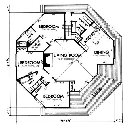 Octagon Home Floor Plans by Best 25 Octagon House Ideas On
