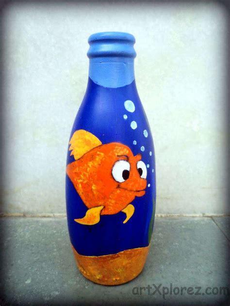 Art Design In Bottle   decorative bottle art artxplorez