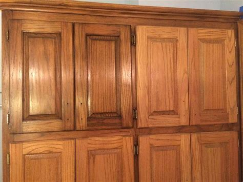 how to refinish kitchen cabinets with stain how to refinish stained wood kitchen cabinets honey oak