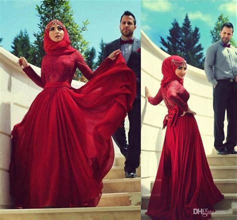 Blf Muslim Chiffon Top Ungu discount 2015 wedding dresses burgundy lace