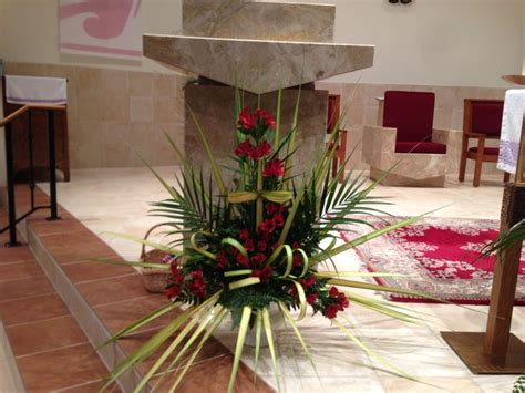 Palm Sunday Decorations Church by Church Flowers On Palm Sunday Church Decorating