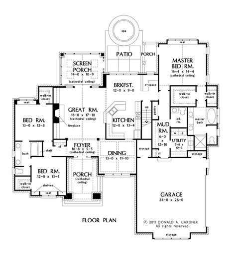 donald gardner floor plans the piedmont house plan images see photos of don gardner