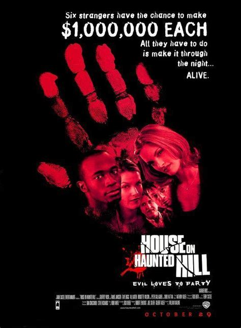 the house on haunted hill house on haunted hill 1999 filmaffinity