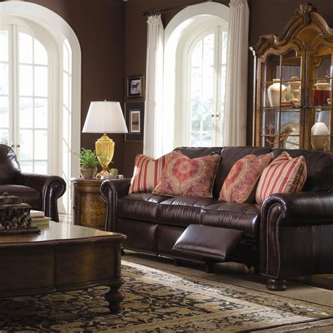 thomasville benjamin leather sofa thomasville sectional exhibit exclusiveness and