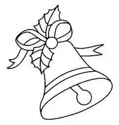 Ofrece este dibujo para colorear y pintar de navidad campanas navidad
