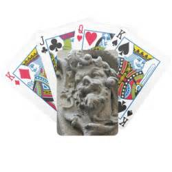 feeling grumpy bicycle playing cards playing cards zazzle